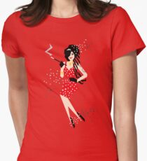 Cartoon Amy Womens Fitted T-Shirt
