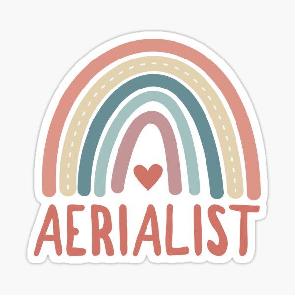 aerialist Sticker