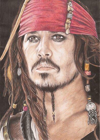 Captain Jack Sparrow by Jade Jones