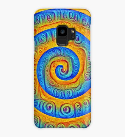 #DeepDreamed Swirl Case/Skin for Samsung Galaxy