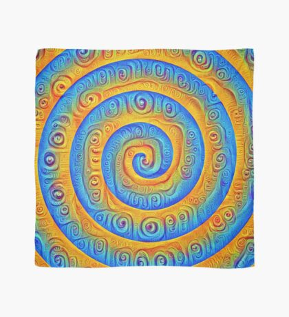 #DeepDreamed Swirl Scarf