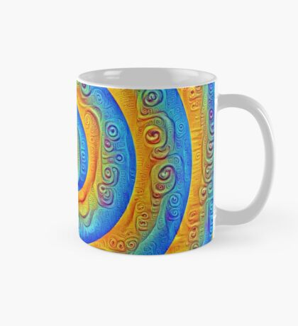 #DeepDreamed Swirl Mug