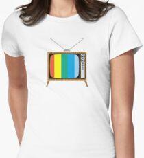 Retro TV Women's Fitted T-Shirt