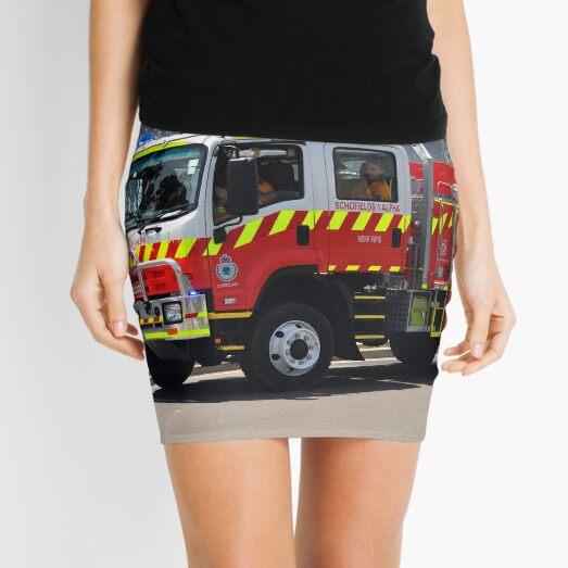 Schofields 1 Alpha - New South Wales Rural Fire Service Mini Skirt
