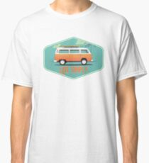 Live Simply - Beach Van Sticker Classic T-Shirt