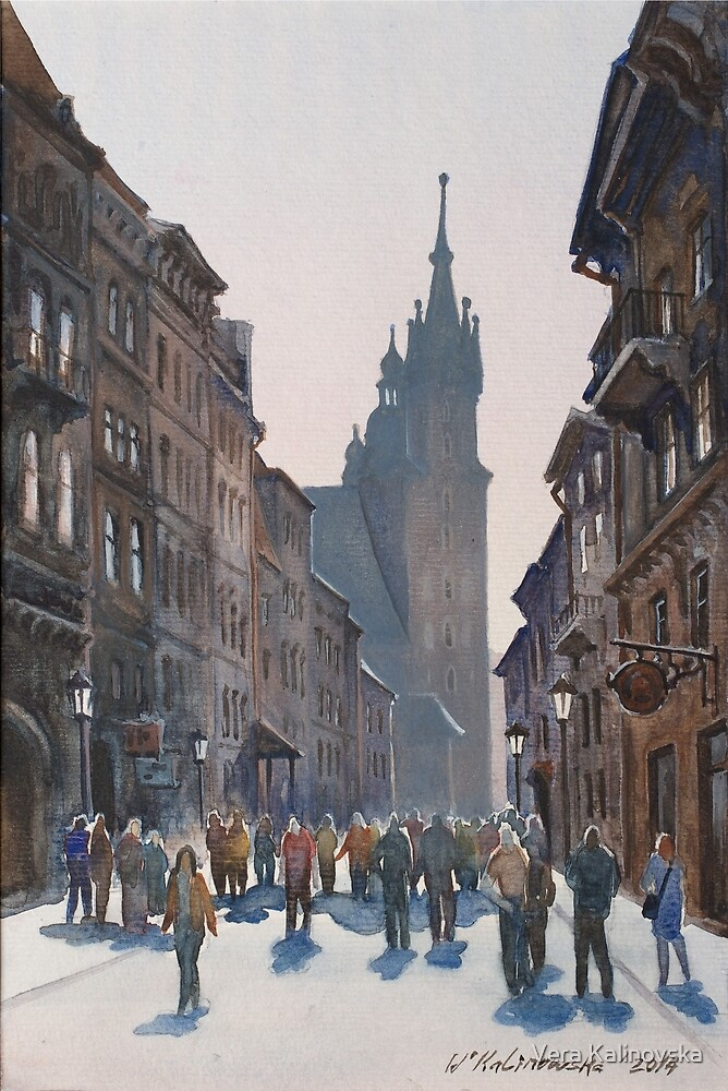 Afternoon at Krakow by Vira Kalinovska