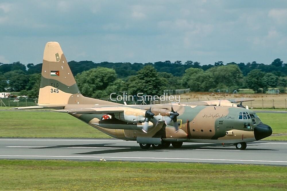 "Lockheed C-130H Hercules 345 ""Guts Air Line"" by Colin Smedley"