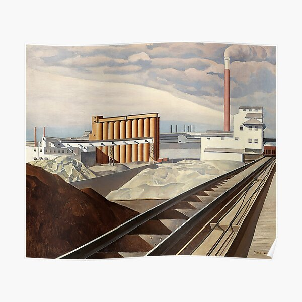 Classic Landscape (1931) - Charles Sheeler  Poster