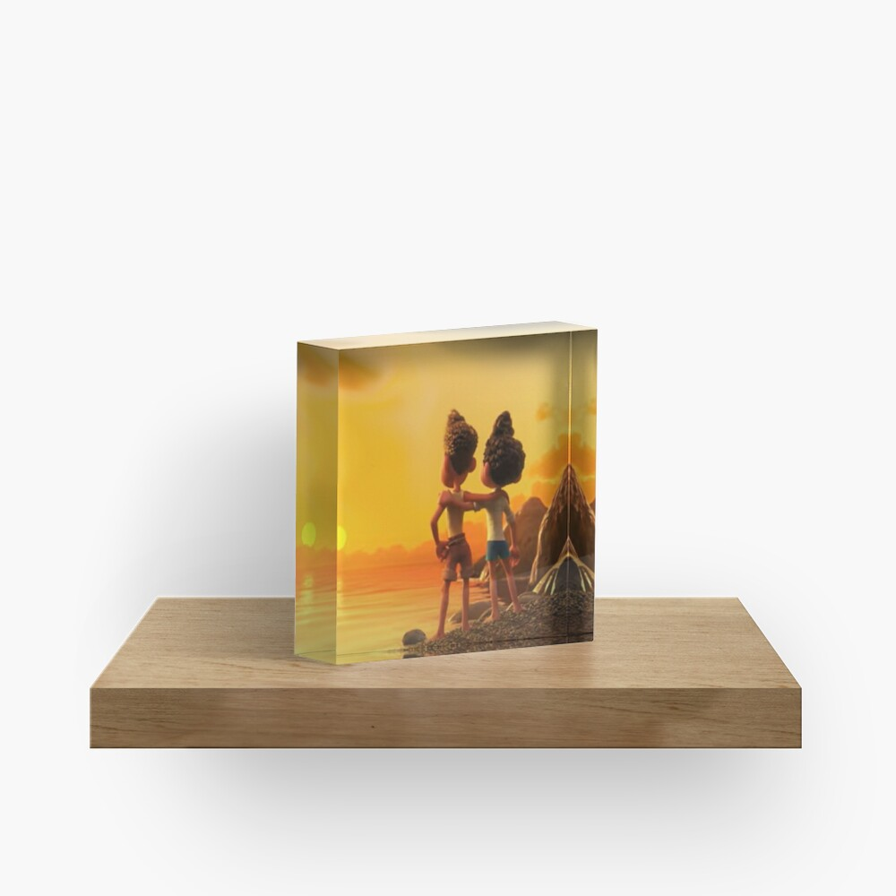 Our friendship never die Acrylic Block