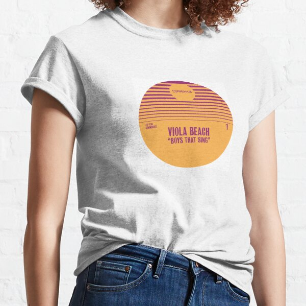 Boys That Sing Album Cover Classic T-Shirt