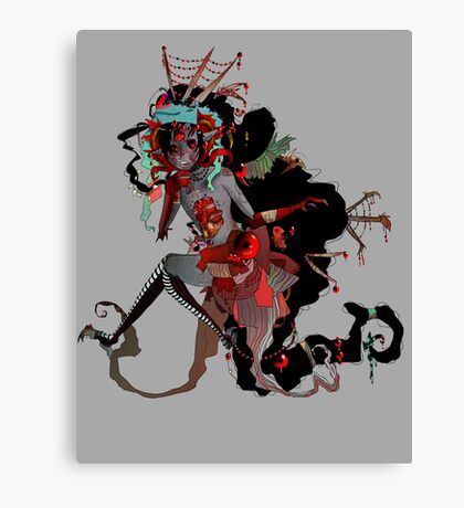 Cluttered Canvas Print