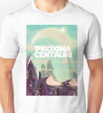 Proxima Centauri science fiction travel poster. T-Shirt