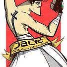 Samurai Jack Slugger by Adam Del Re