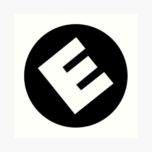 E Corp  Art Print