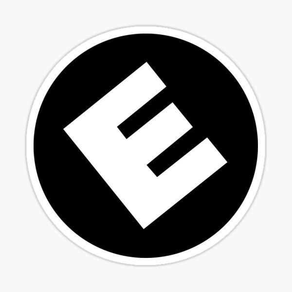 E Corp  Sticker