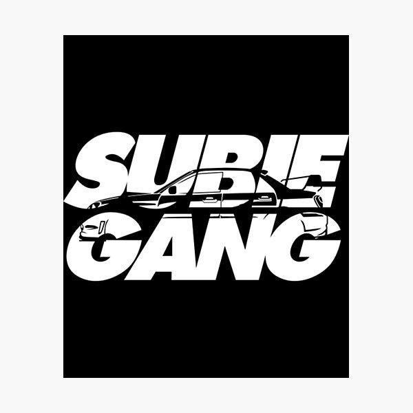 Subaru T-ShirtSUBIE!!!GANK!!! Fotodruck
