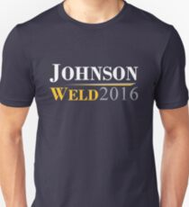 Johnson Weld Campaign Logo T-Shirt