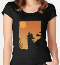 Lone Wolf and Cub Women's Fitted Scoop T-Shirt