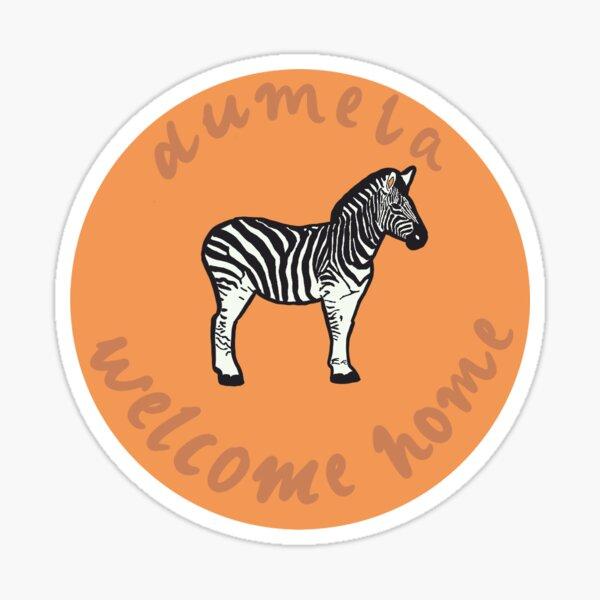 Dumela - Welcome Home Sticker