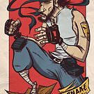 Solid Snake Scrapper by Adam Del Re