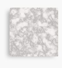 White solid marble Canvas Print