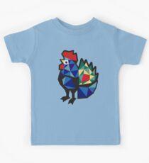 Polish Folk Rooster Kids Tee