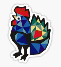 Polish Folk Rooster Sticker