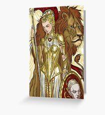 Virginia-Minerva Greeting Card