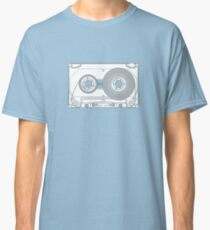 Audio cassette cutaway Classic T-Shirt