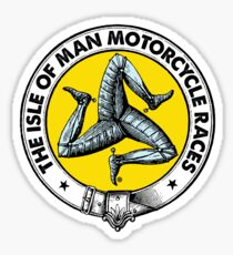 Isle of Man Motorcycle Races Sticker