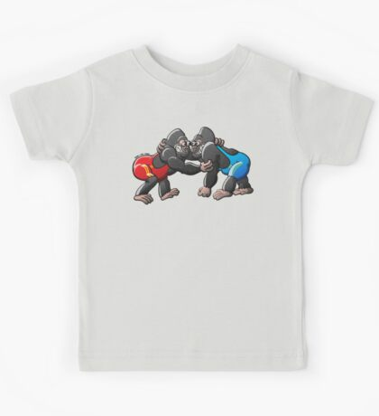 Wrestling Gorillas Kids Clothes