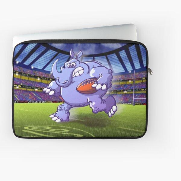 Rugby Rhinoceros Laptop Sleeve