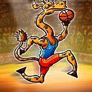 Basketball Giraffe by Zoo-co