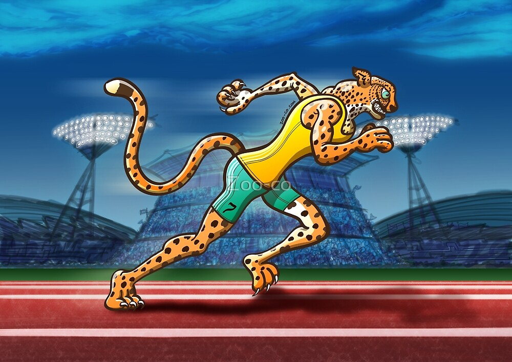 Runner Cheetah by Zoo-co