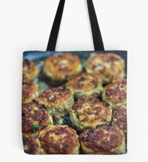 Meatballs cooking Tote Bag