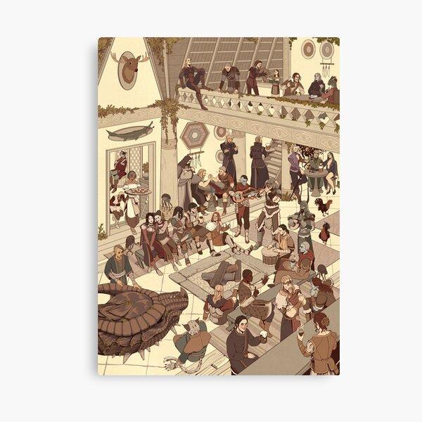 Whiterun Tavern Canvas Print