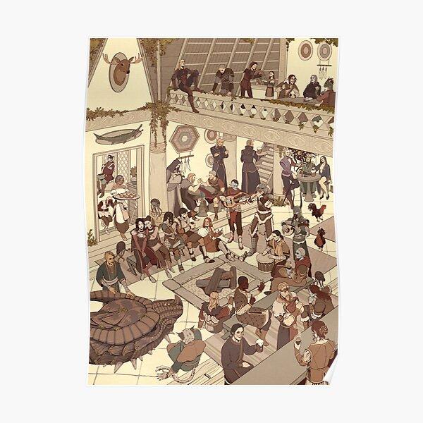 Whiterun Tavern Poster