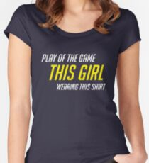 potg - f Women's Fitted Scoop T-Shirt