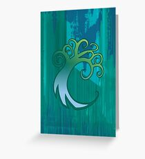 Magic the Gathering, Simic Greeting Card