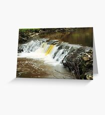 Mill River 2 Greeting Card