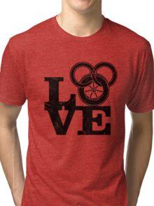 Love Wheel Of Time Tri-blend T-Shirt