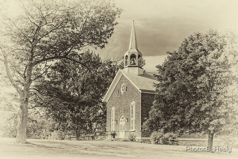 South Bay United Church - sepia by Photos by Healy