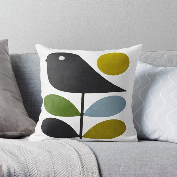 Orla Kiely- tige fleur, oiseau Coussin