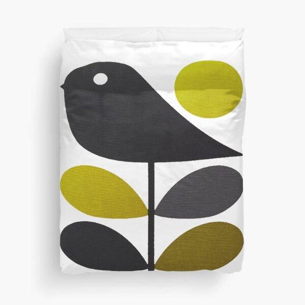 orla kiely- stem flower,bird design  Duvet Cover