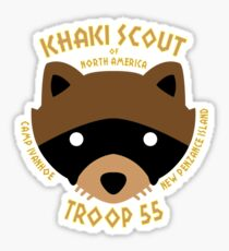 Khaki Scouts of North America Sticker