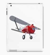 Retro biplane iPad Case/Skin