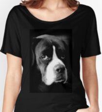 Arwen - Weiblicher Boxer-Hund - Boxer-Hunde-Reihe Loose Fit T-Shirt