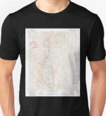 USGS TOPO Map Arizona AZ Willow Beach 314128 1959 24000 Unisex T-Shirt