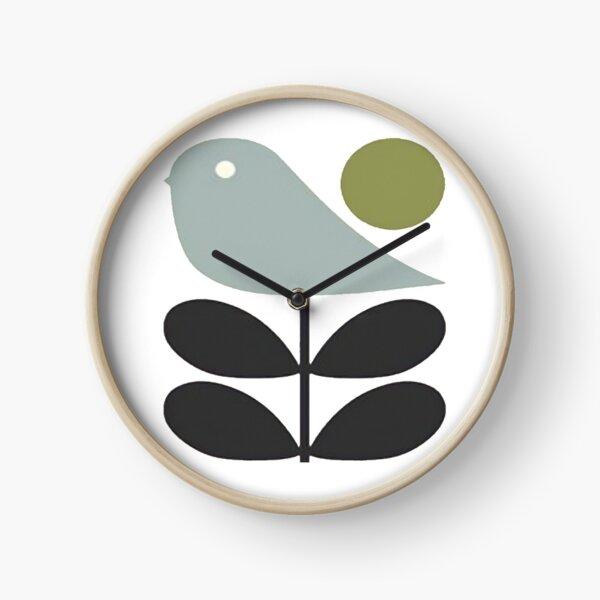 orla kiely- stem flower,bird design  Clock