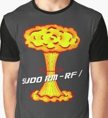 Sudo rm -rf / Graphic T-Shirt